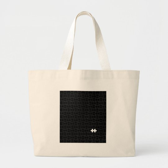Missing Piece Large Tote Bag