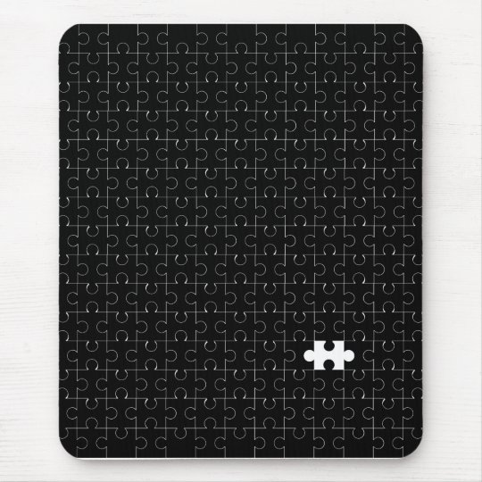 Missing Piece Mouse Pad