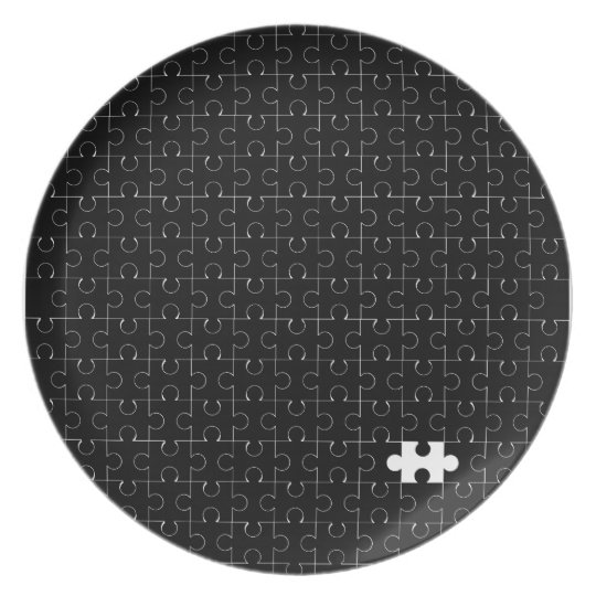 Missing Piece Party Plate