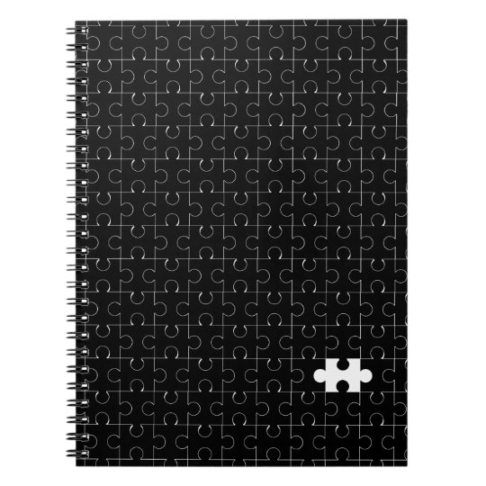 Missing Piece Spiral Notebook
