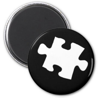 Missing Puzzle Piece Magnet
