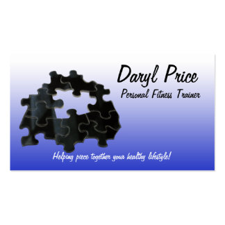 Missing Puzzle Piece Pack Of Standard Business Cards