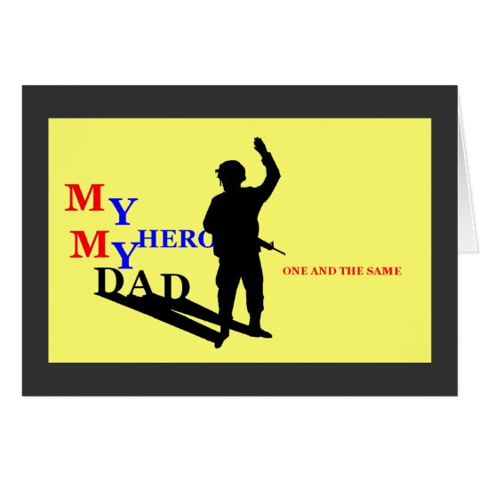 Missing you Dad Card