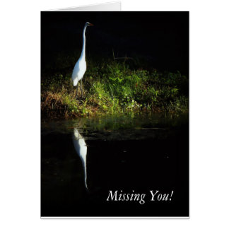 """Missing You!"" Greeting Card"