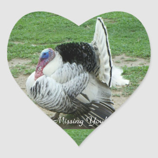 Missing You!, Heart Sticker