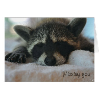 """""""Missing You"""" Notecard"""