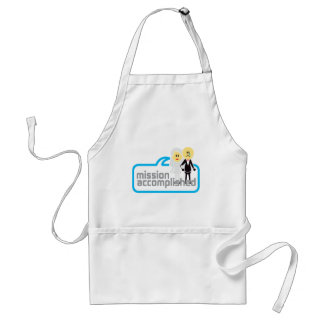 Mission Accomplished Marriage Apron