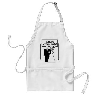 """Mission Accomplished"" Marriage Apron"