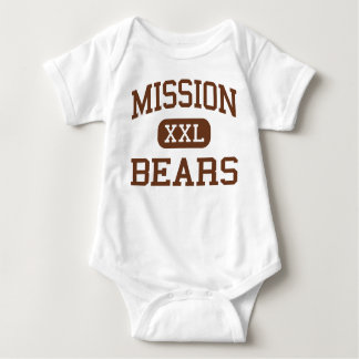 Mission - Bears - High - San Francisco California Baby Bodysuit