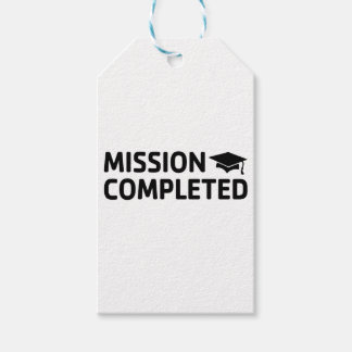 Mission Completed Gift Tags