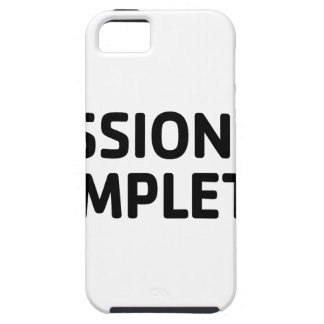 Mission Completed iPhone 5 Cases