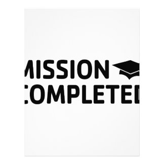 Mission Completed Letterhead