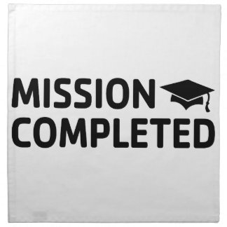Mission Completed Napkin