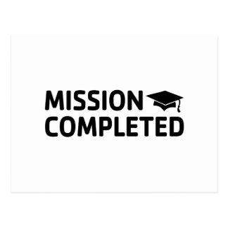 Mission Completed Postcard