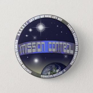 Mission Control 2 Inch Round Button