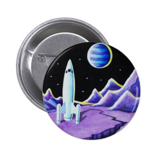 MISSION CONTROL 2 INCH ROUND BUTTON