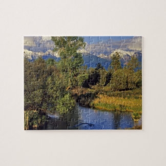 Mission Creek in the National Bison Range in Jigsaw Puzzle