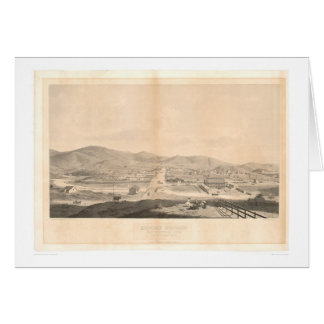 Mission Dolores, San Francisco 1860 (1097A) Card