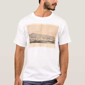 Mission Dolores, San Francisco 1860 (1097A) T-Shirt