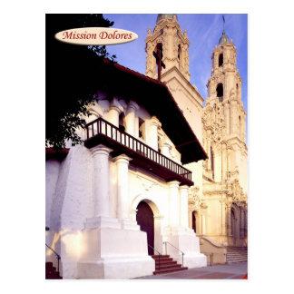 Mission Dolores, San Francisco, California Postcard