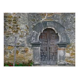 Mission Espada Door Poster