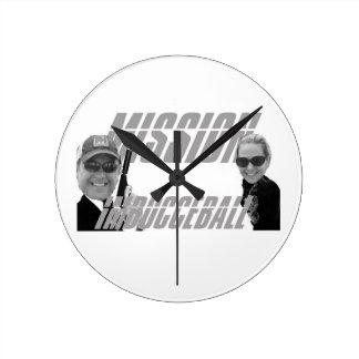 Mission ImBocceBall clock