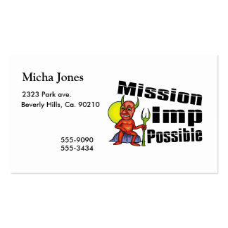 Mission Imp Possible Business Card