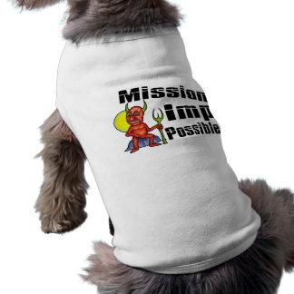 Mission Imp Possible Doggie Tshirt