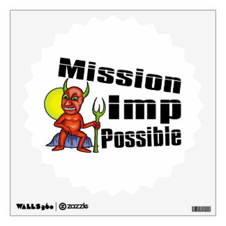 Mission Imp Possible Wall Sticker