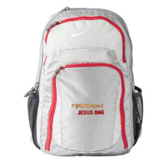 Mission Jesus One Backpack