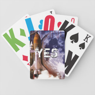 Mission Jesus One Bicycle Playing Cards