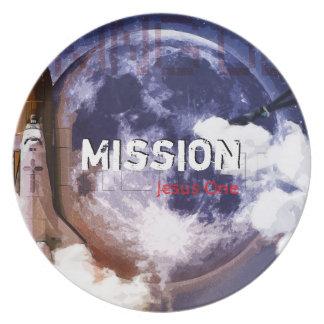 Mission Jesus One Plate