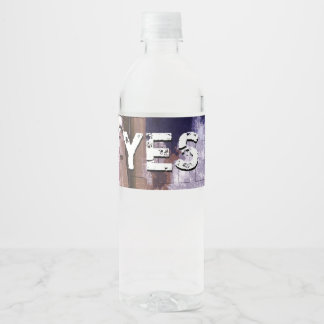 Mission Jesus One Water Bottle Label