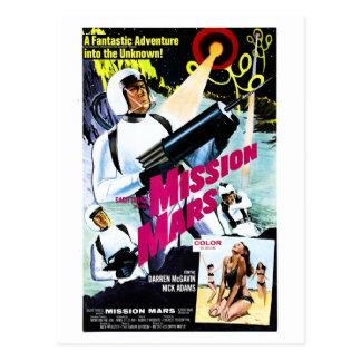 Mission Mars Postcard