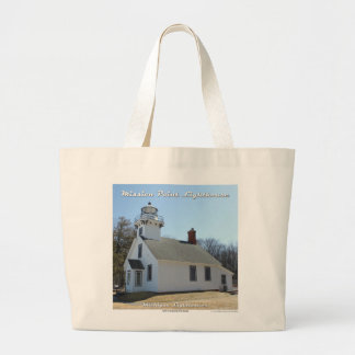 Mission Point Lighthouse - Traverse City tote