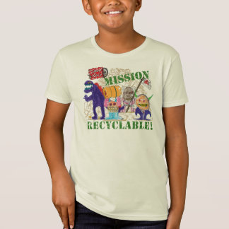 Mission Recyclable! Scrap Kins Organic Tee