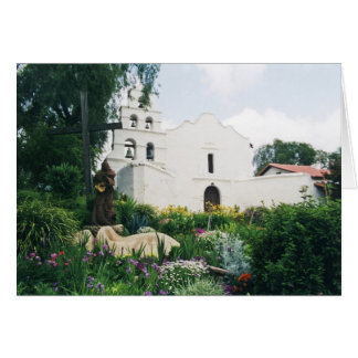 Mission San Diego de Alcala Card