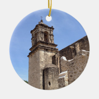 Mission San Jose - San Antonio, Texas Ceramic Ornament