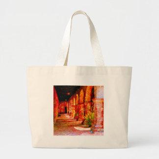 Mission San Juan Capistrano California Abstract Large Tote Bag