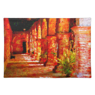 Mission San Juan Capistrano California Abstract Placemat