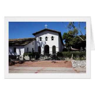 Mission San Luis Obispo Card