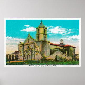 Mission San Luis, Rey de FranciaOceanside, CA Poster