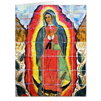 Mission San Miguel Arcangel Mural 1797 Cards