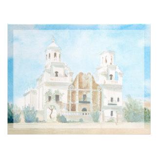 Mission San Xavier del Bac Letterhead