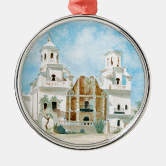 Mission San Xavier del Bac Metal Ornament