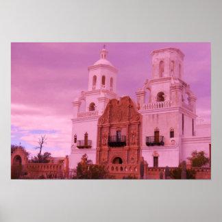 Mission San Xavier Del Bac Poster