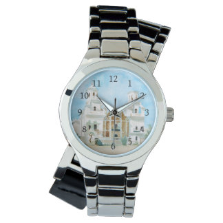 Mission San Xavier del Bac Wrist Watch