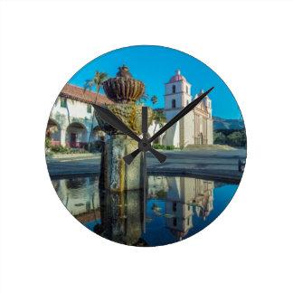Mission Santa Barbara Round Clock