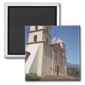Mission Santa Barbara Square Magnet
