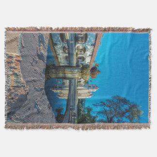 Mission Santa Barbara Throw Blanket